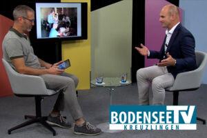 Dr. Volker Wedler beim Interview mit dem Bodensee TV